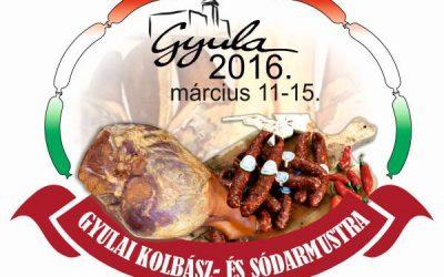 Gyulai Kolbász és Sódarmustra programja március 11-15.